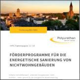"""IVPU Faktenpapier """"Förderprogramme für die energetische Sanierung von Nichtwohngebäuden"""""""